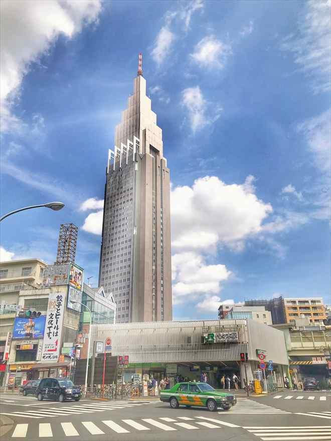ドコモタワー(NTTドコモ代々木ビル)