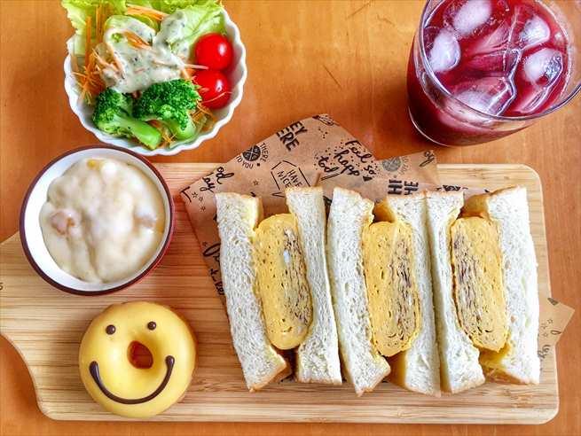 乃が美のサンドイッチ