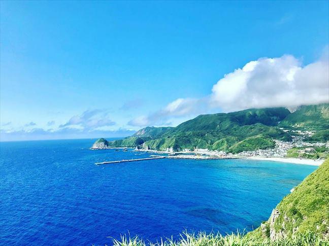 『天気の子』映画舞台_神津島