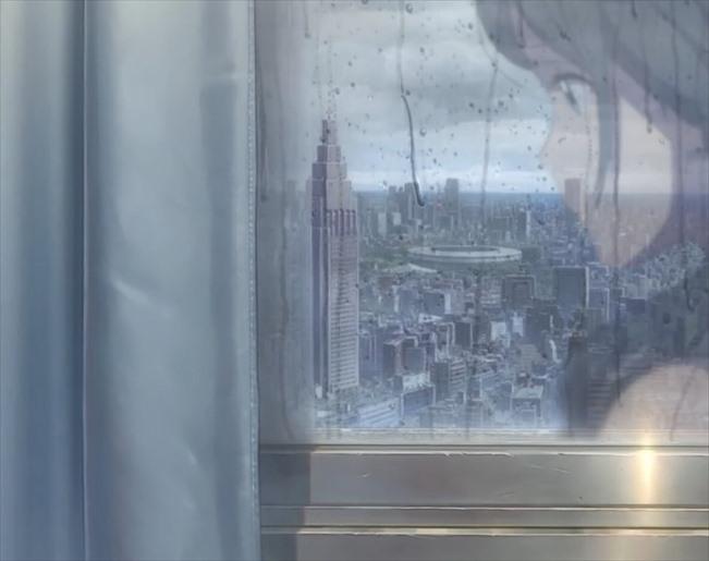『天気の子』映画舞台_ドコモタワー