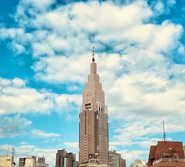 『天気の子』聖地(ドコモタワー)